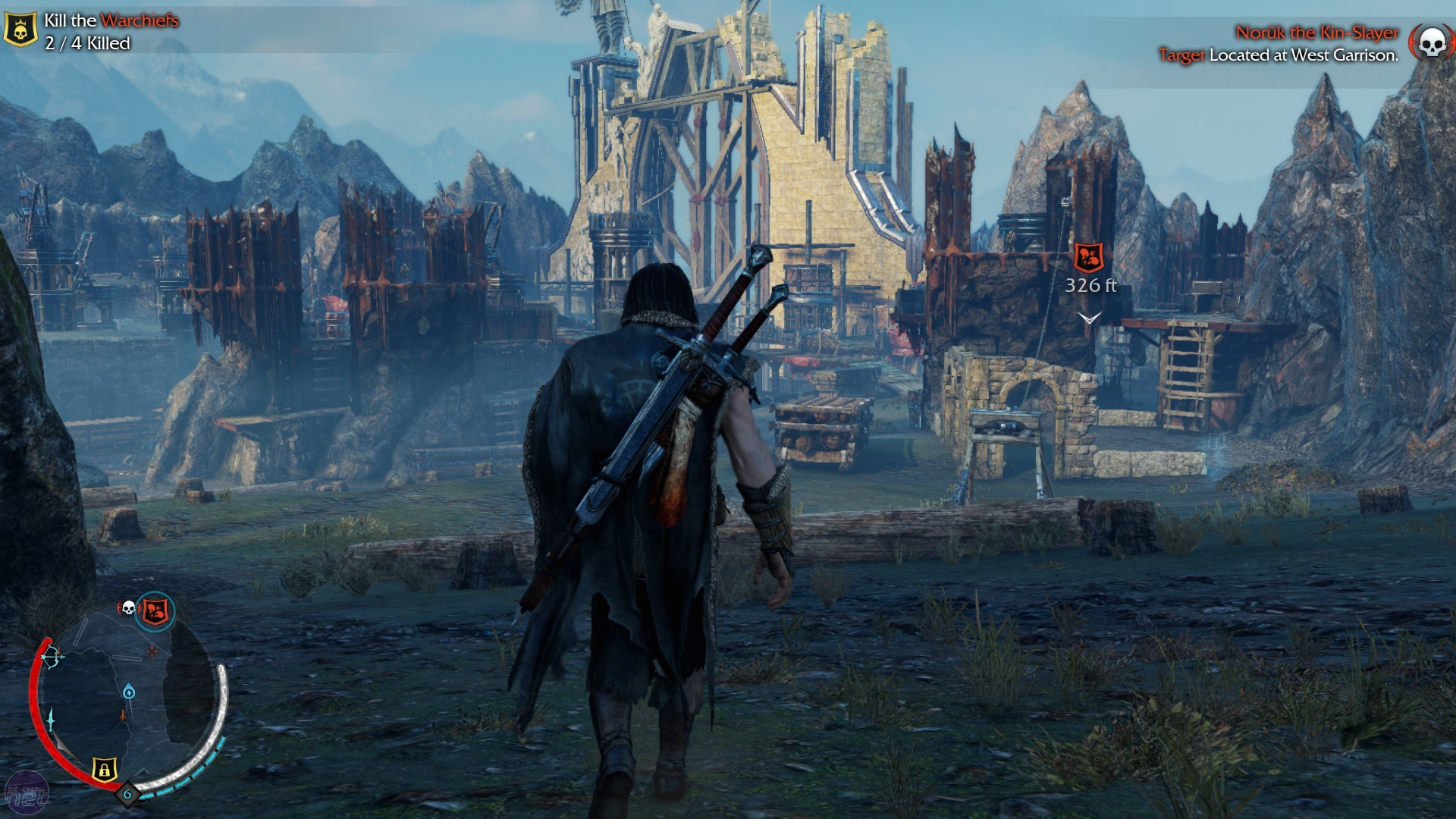 Скриншот Middle-Earth: Shadow of Mordor - Game of the Year Edition [Update 8] (2014) PC | RePack от R.G. Механики