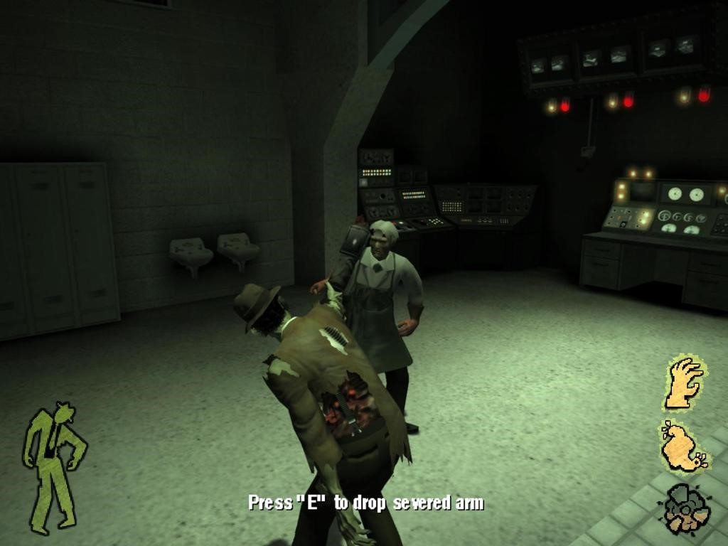 Скриншот Stubbs the Zombie in Rebel Without a Pulse (2005) PC