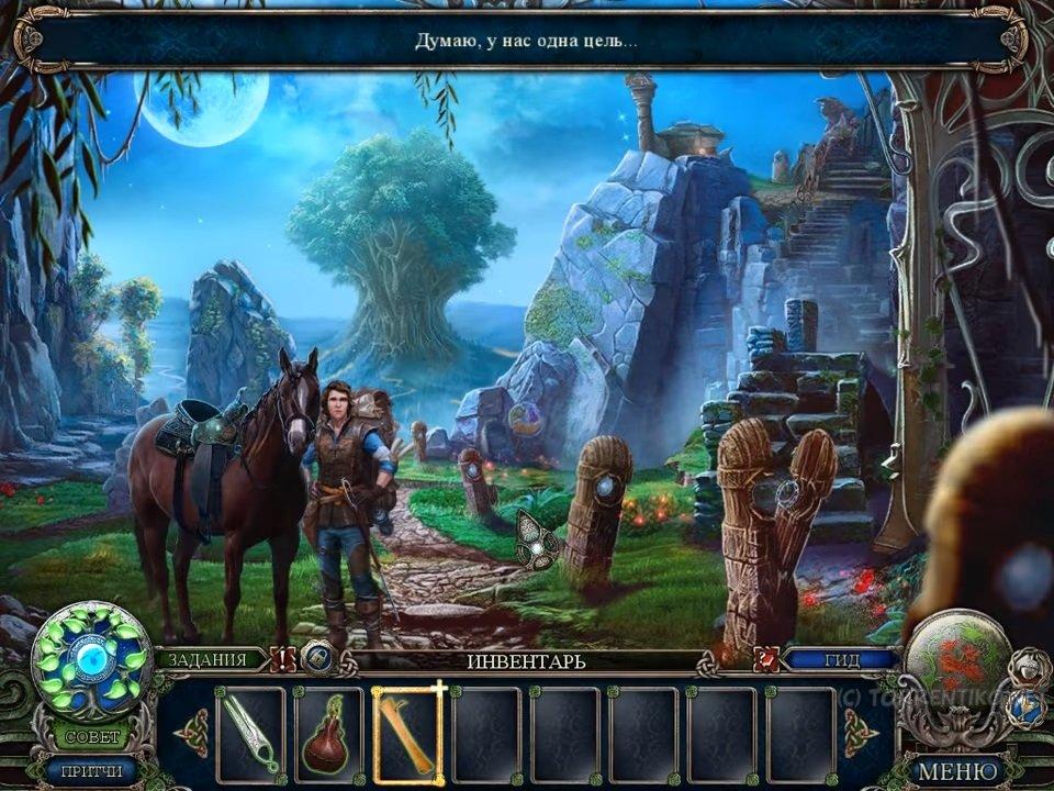 Скриншот Темные притчи 11: Принцесса-Лебедь и Великое Дерево. Коллекционное издание (2016) PC
