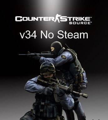 Counter-Strike: Source v34 Non-Steam Update (2004) PC