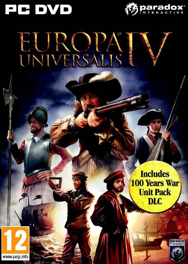 Europa Universalis IV [v1.17.1.0 +47 DLC] (2013) PC