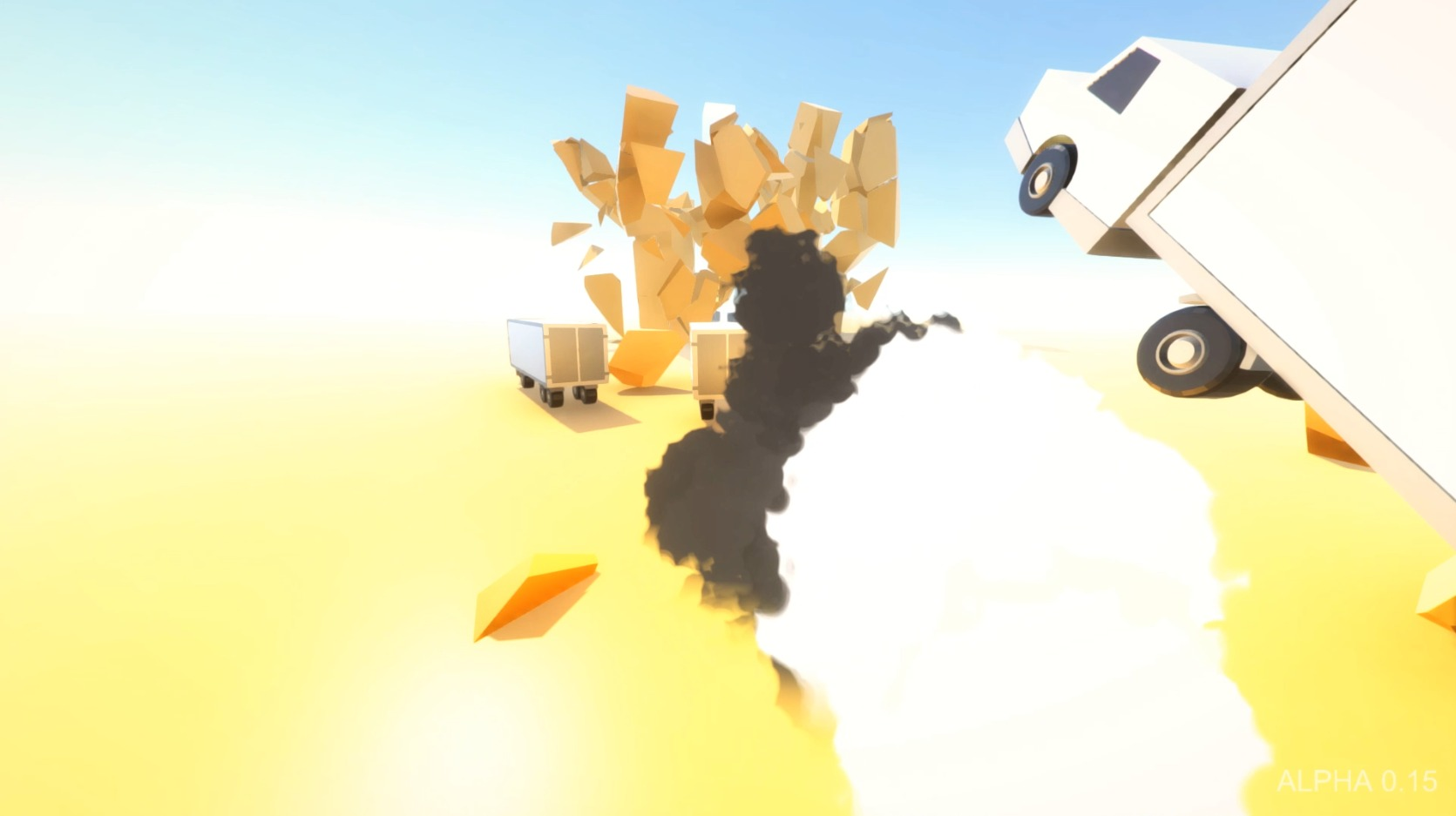 Скриншот Clustertruck (2016) PC