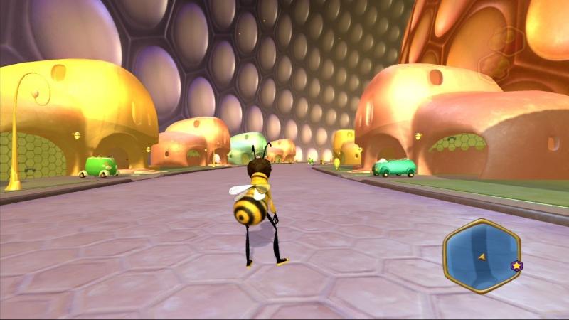 Скриншот Bee Movie Game (2007) PC