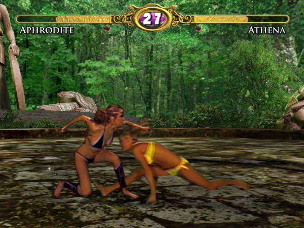 Скриншот Bikini Karate Babes 2: Warriors of Elysia (2011) PC