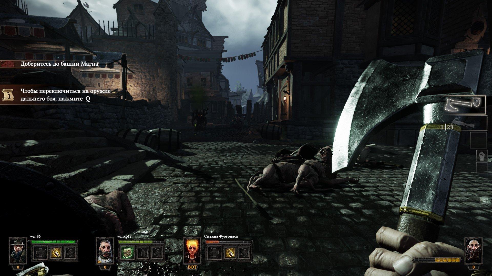 Скриншот Warhammer: End Times - Vermintide [v 1.3.1 + 3 DLC] (2015) PC