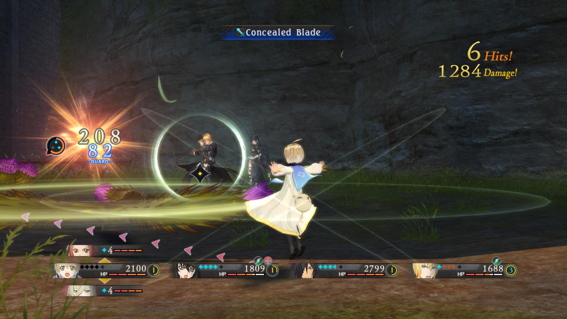 Скриншот Tales of Berseria (2017) PC