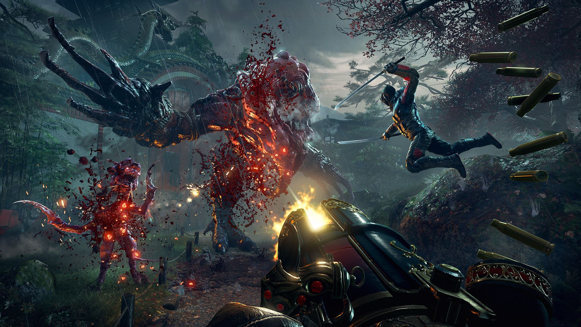 Скриншот Shadow Warrior 2: Deluxe Edition [v 1.1.10.1] (2016) PC