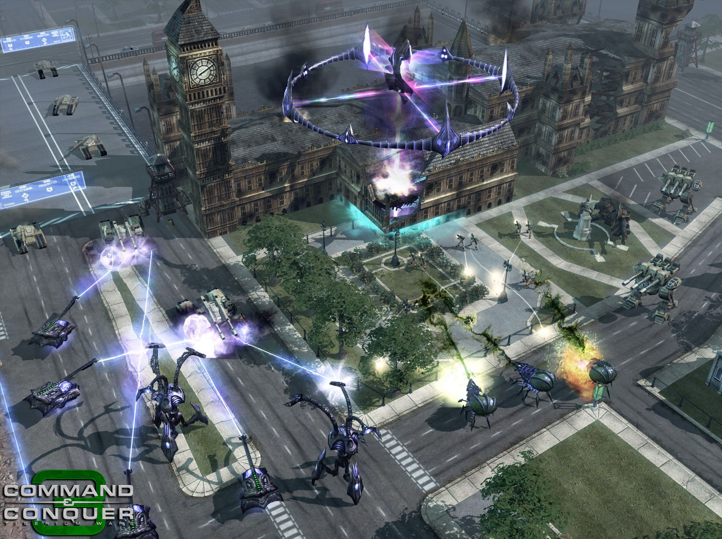 Скриншот Command & Conquer 3: Tiberium Wars (2007) PC