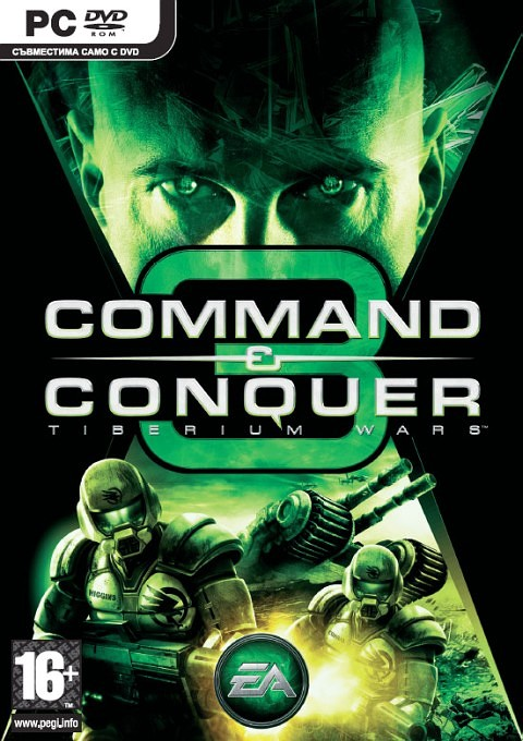 Command & Conquer 3: Tiberium Wars (2007) PC
