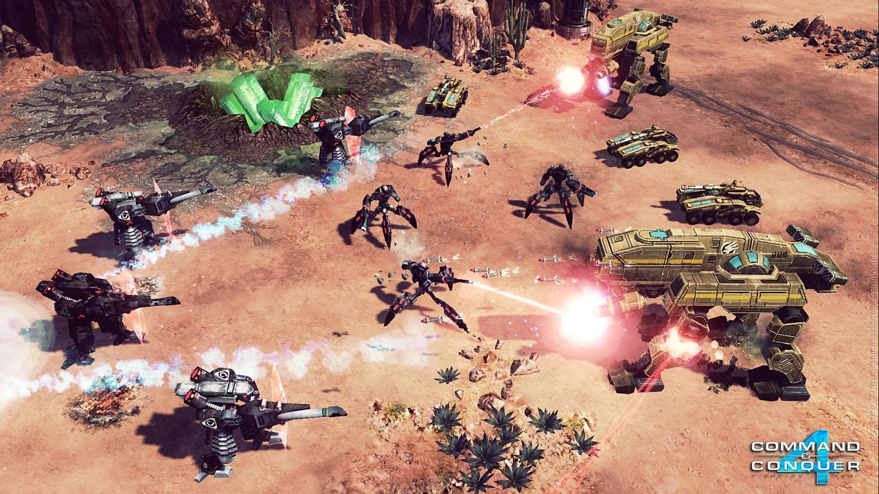 Скриншот Command & Conquer 4: Tiberian Twilight (2010) PC | RePack от R.G. Механики