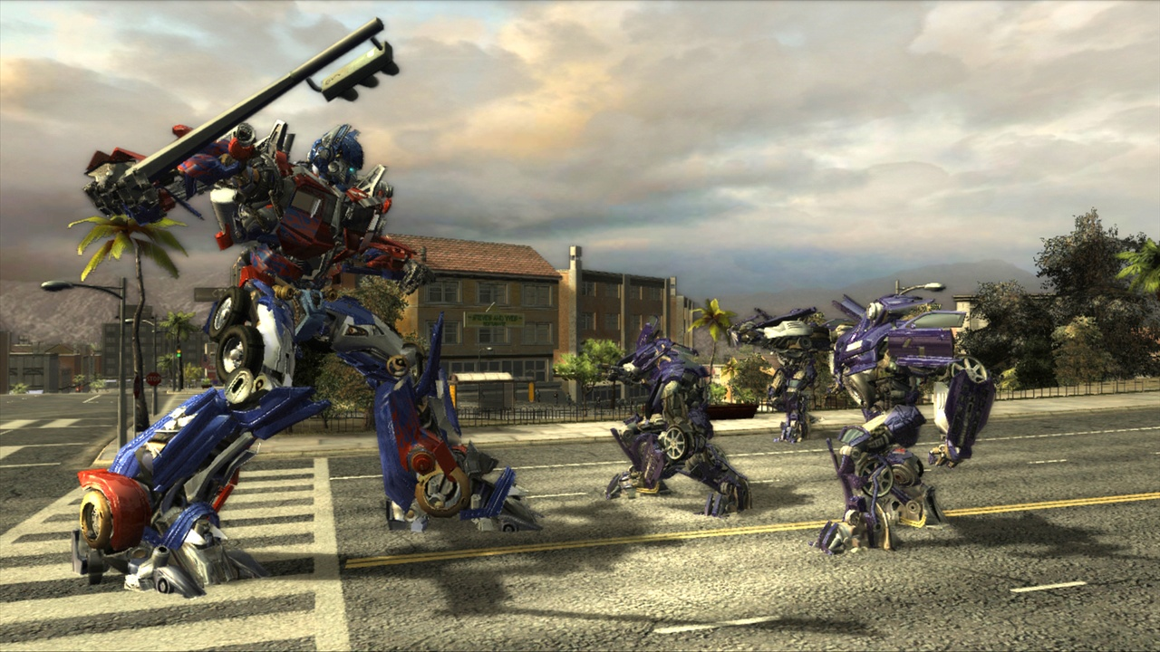 Скриншот Transformers: The Game (2007) PC