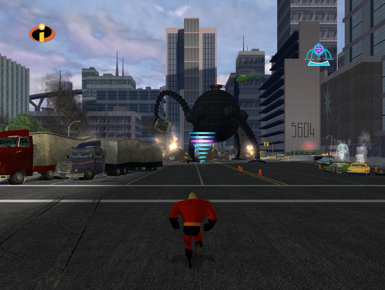 Скриншот The Incredibles (2004) PC
