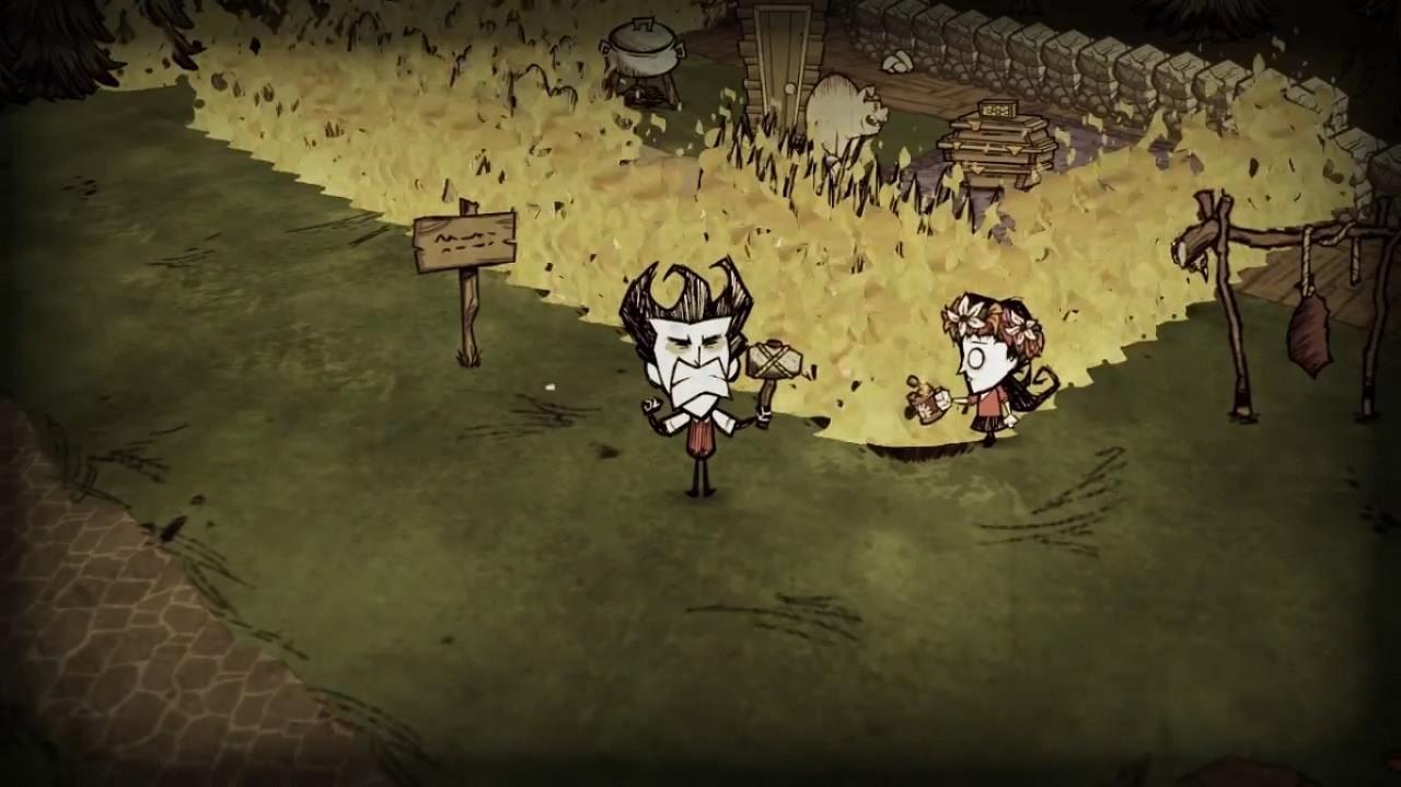 Скриншот Don't Starve Together [Buld 206317] (2013) PC