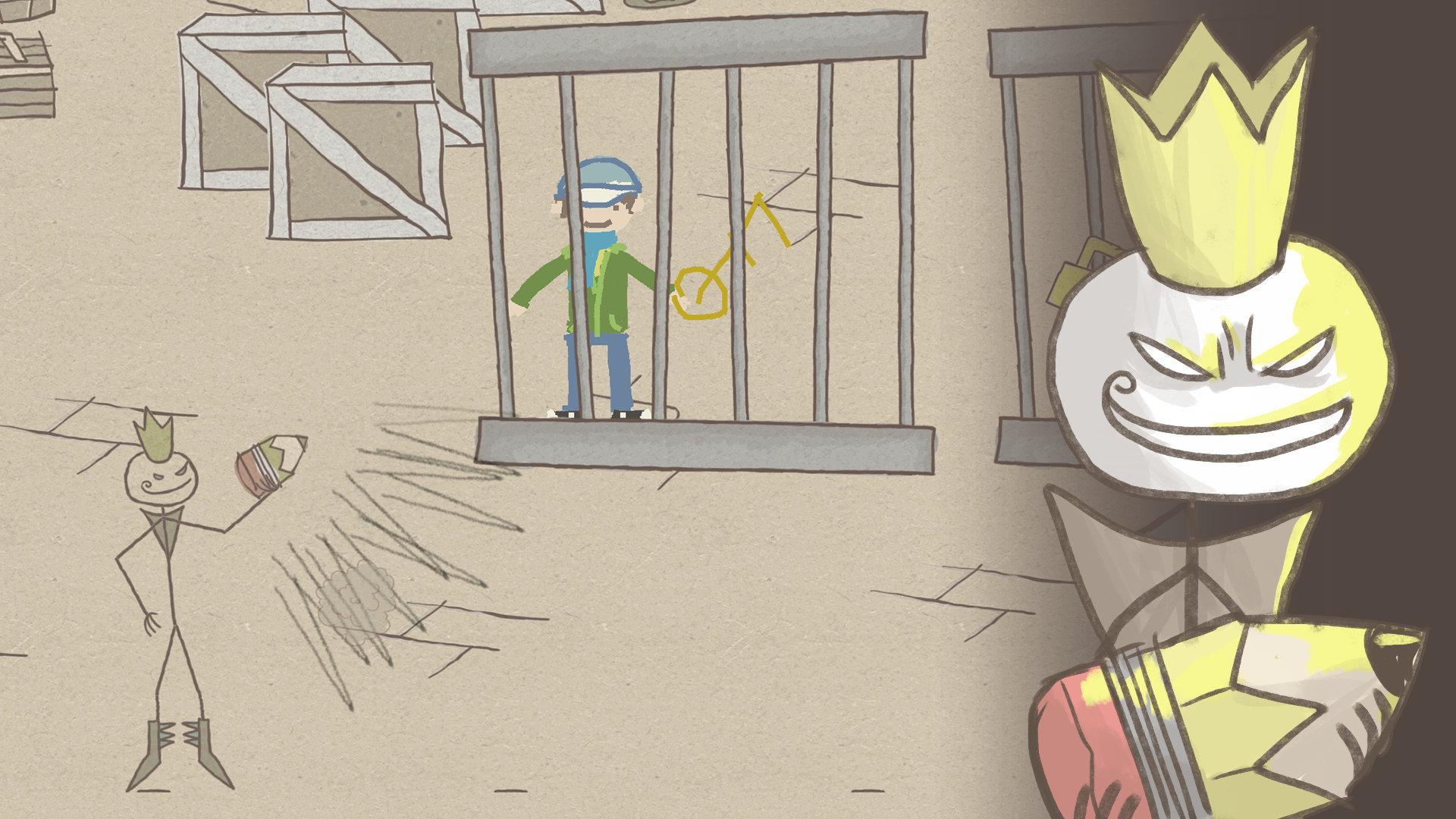 Скриншот Draw a Stickman: EPIC (2013) PC