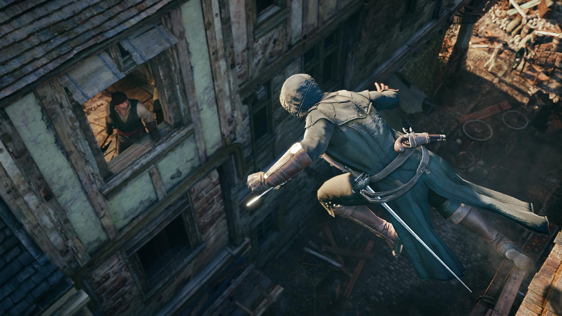 Скриншот Assassin's Creed Unity [v 1.5.0 + DLCs] (2014) PC   RePack от R.G. Механики