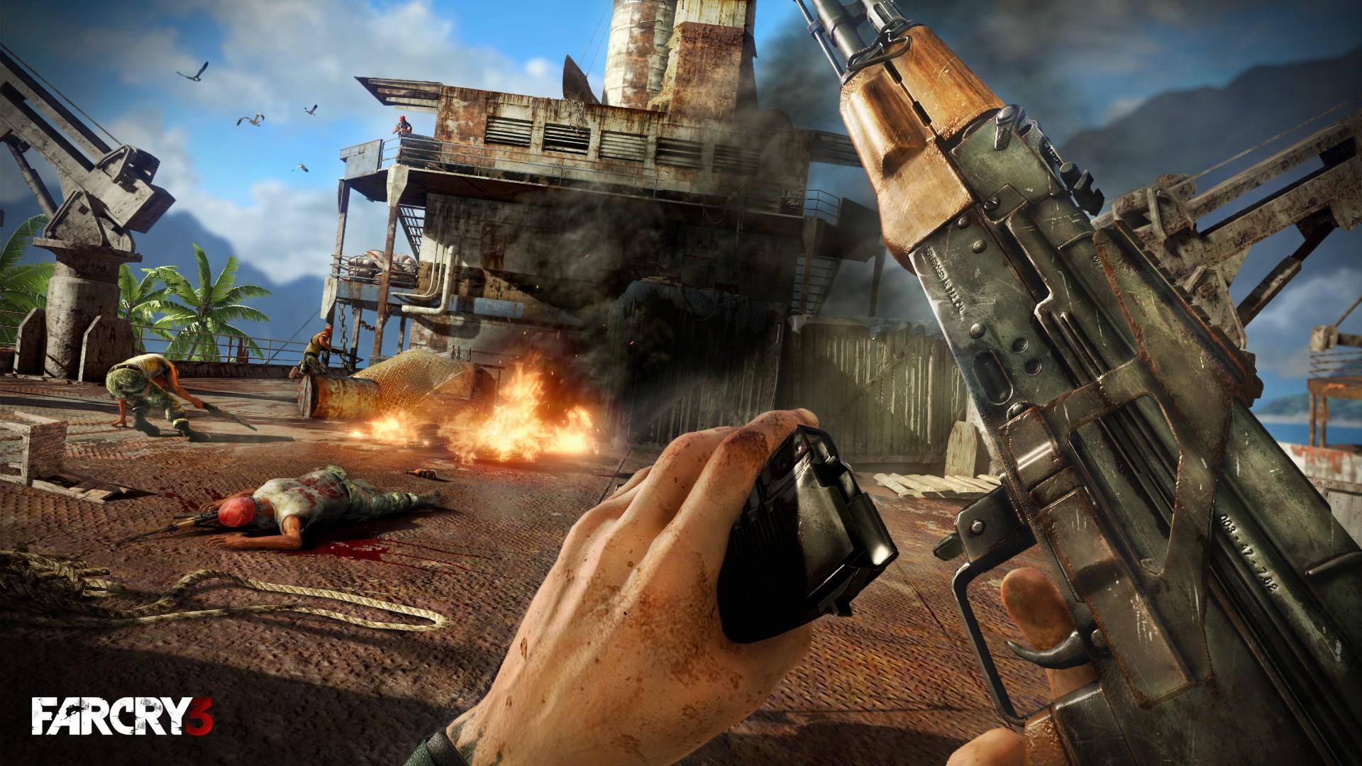Скриншот Far Cry 3 [v.1.05] (2012) PC   RePack от R.G. Механики
