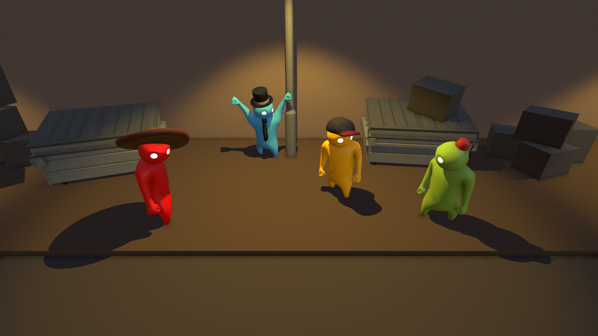 Скриншот Gang Beasts (2015) PC