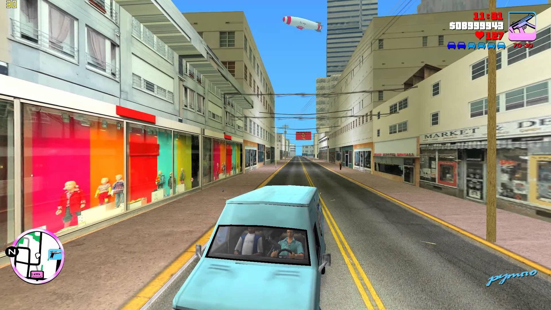 Скриншот GTA / Grand Theft Auto: Vice City - Real Mod 2014 (2003) PC
