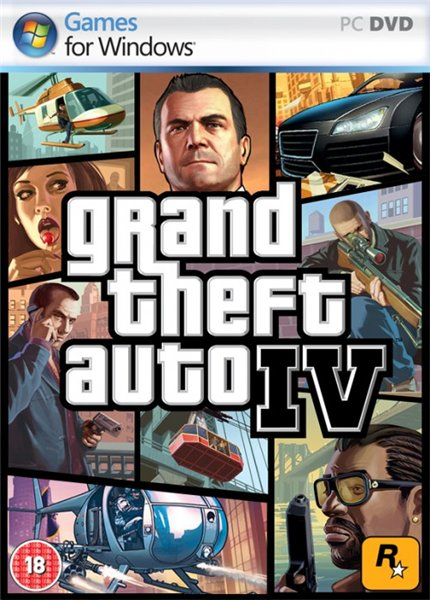 Grand Theft Auto IV instyle V (2015) PC