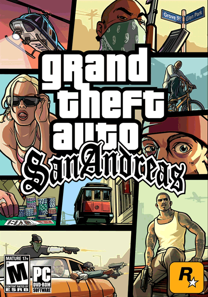 Grand Theft Auto: San Andreas (2004) PC