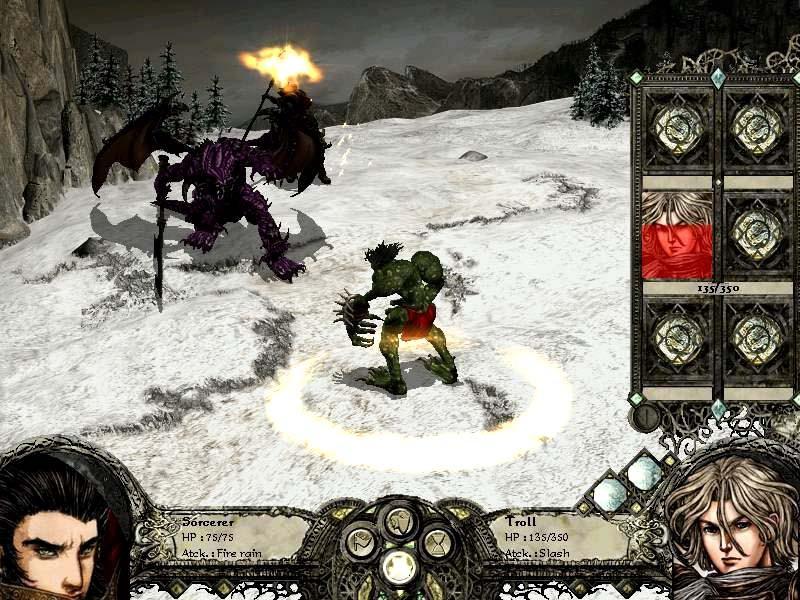 Скриншот Disciples 2: Gold Edition (2005) PC