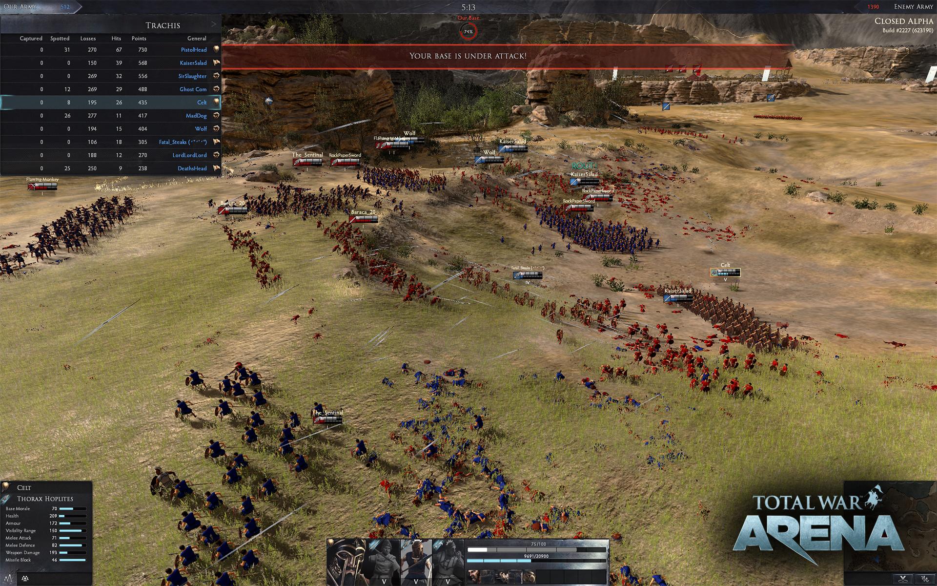 Скриншот Total War: Arena (2017) PC