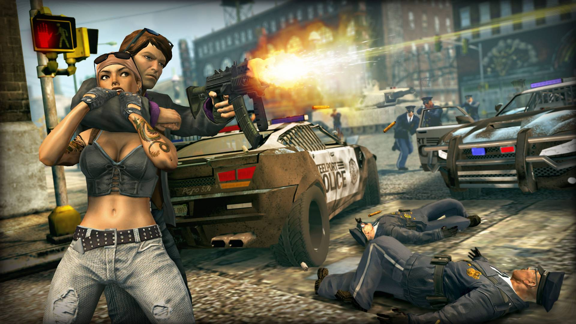 Скриншот Saints Row: The Third [v 1.0.0.1u4] (2011) PC