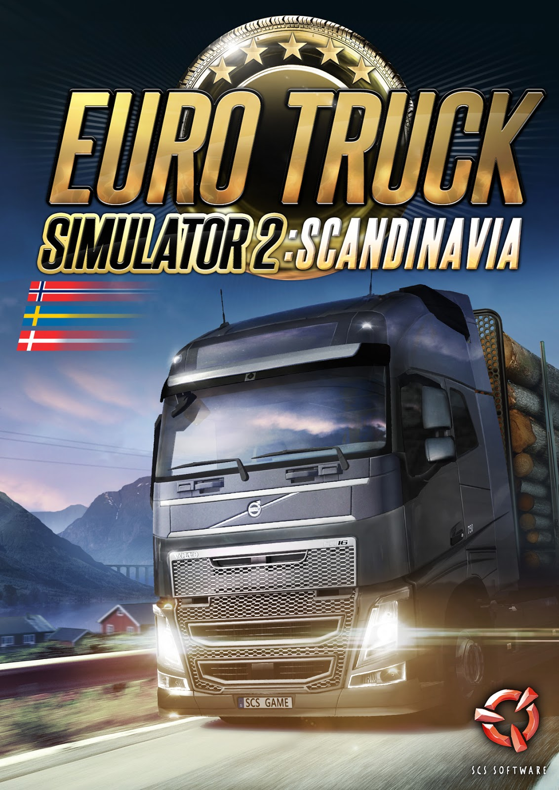 Euro Truck Simulator 2 Scandinavia (2015) PC