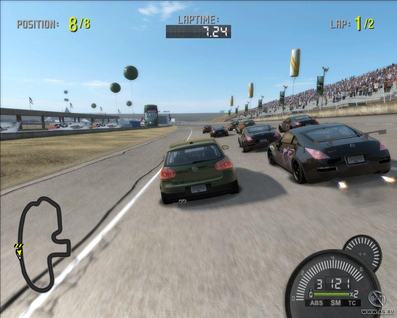 Скриншот Need for Speed: ProStreet (2007) PC | RePack от R.G. Механики
