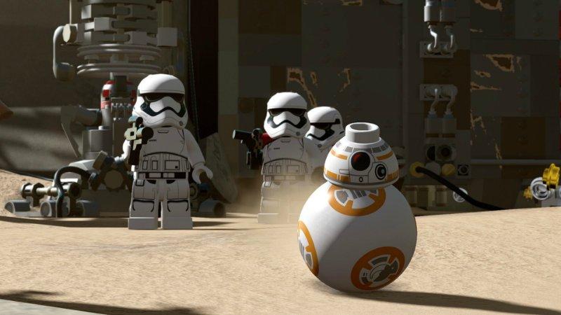 Скриншот LEGO Star Wars The Force Awakens v1.0.3 (2016) PC
