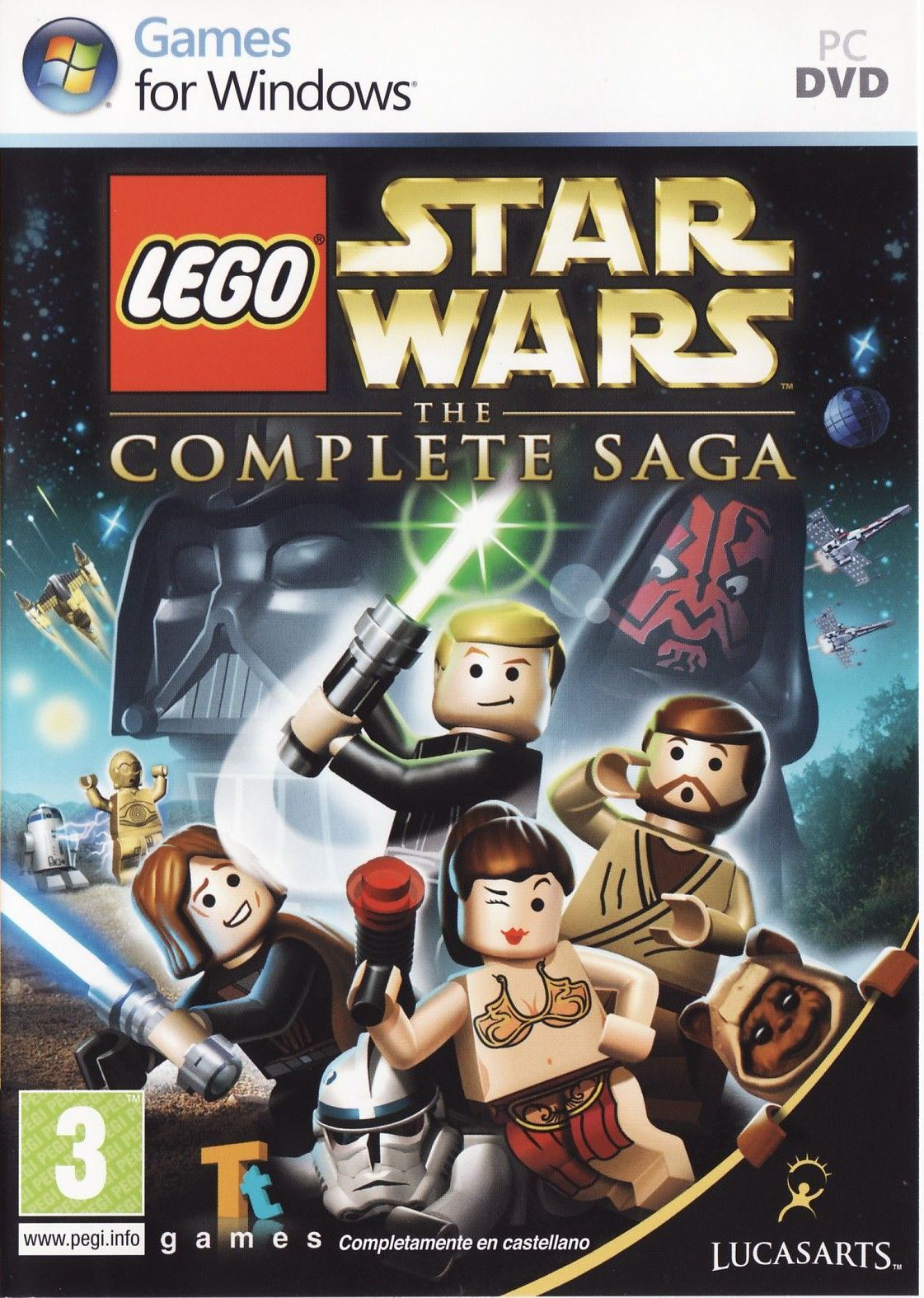 Lego. Star Wars: The Complete Saga (2009) PC