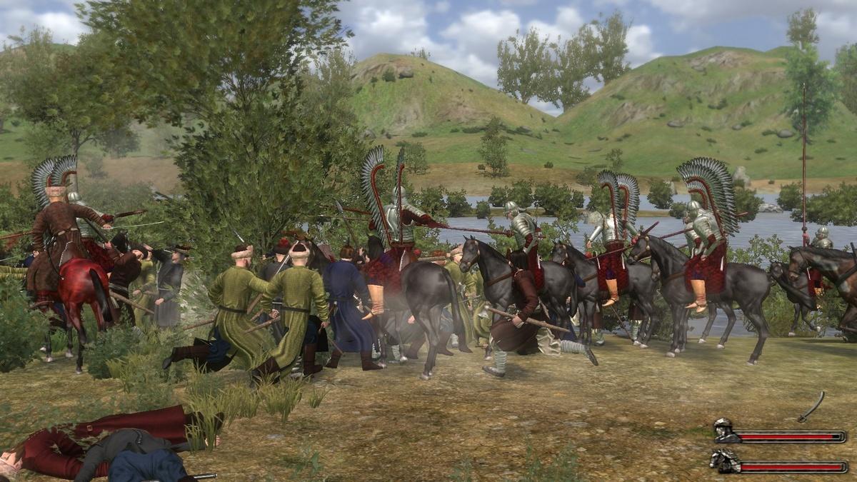 Скриншот Mount & Blade: Огнём и Мечом. Великие Битвы (2010) PC