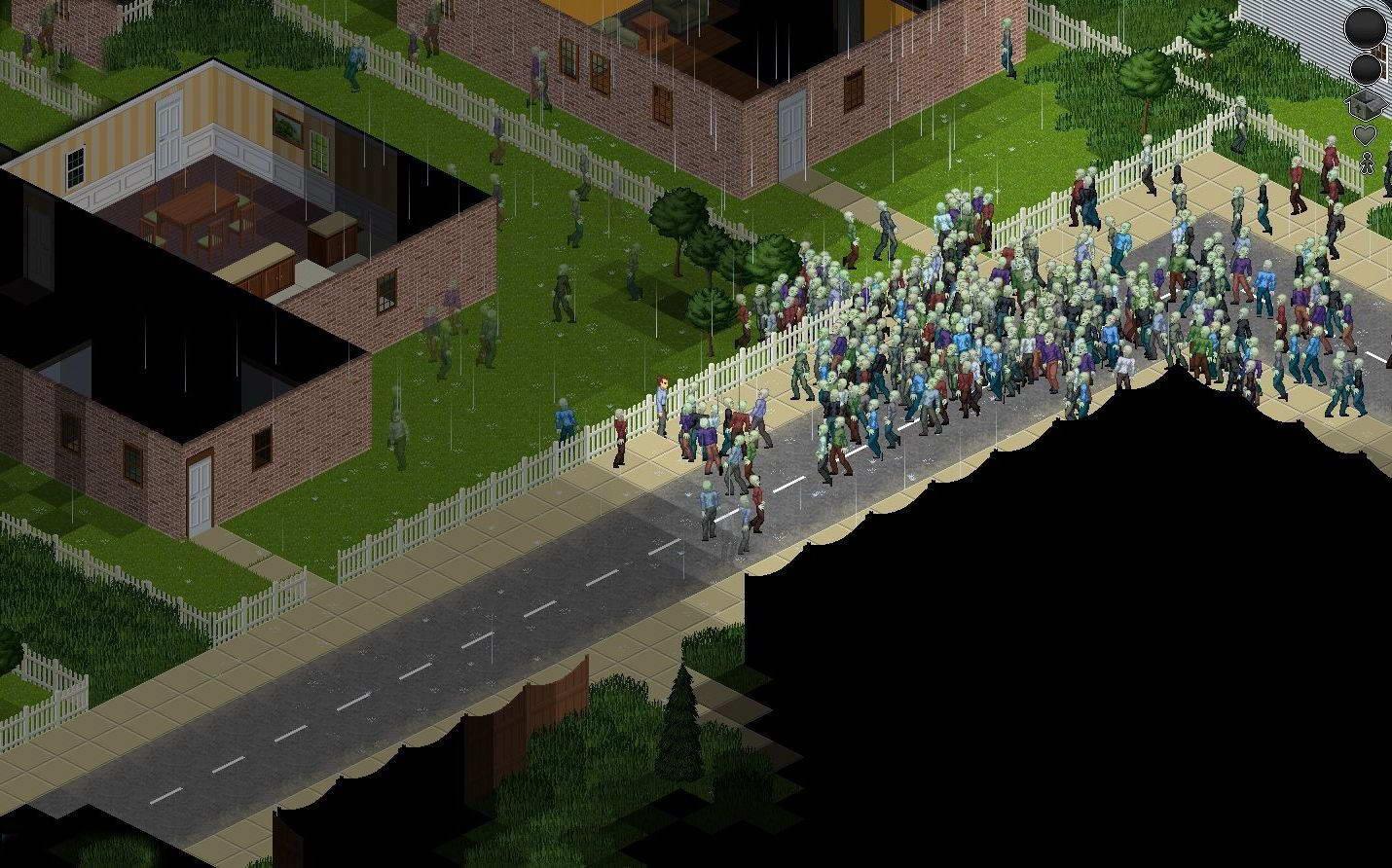 Скриншот Project Zomboid [v34.28] (2013) РС
