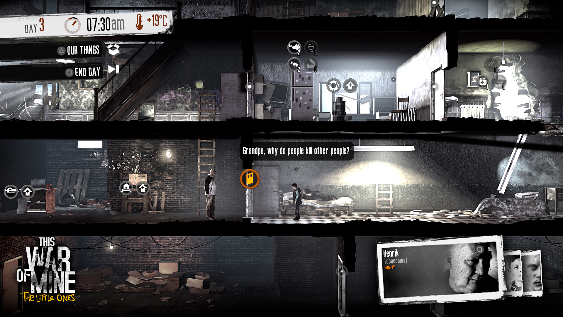 Скриншот This War of Mine The Little Ones (2014) PC