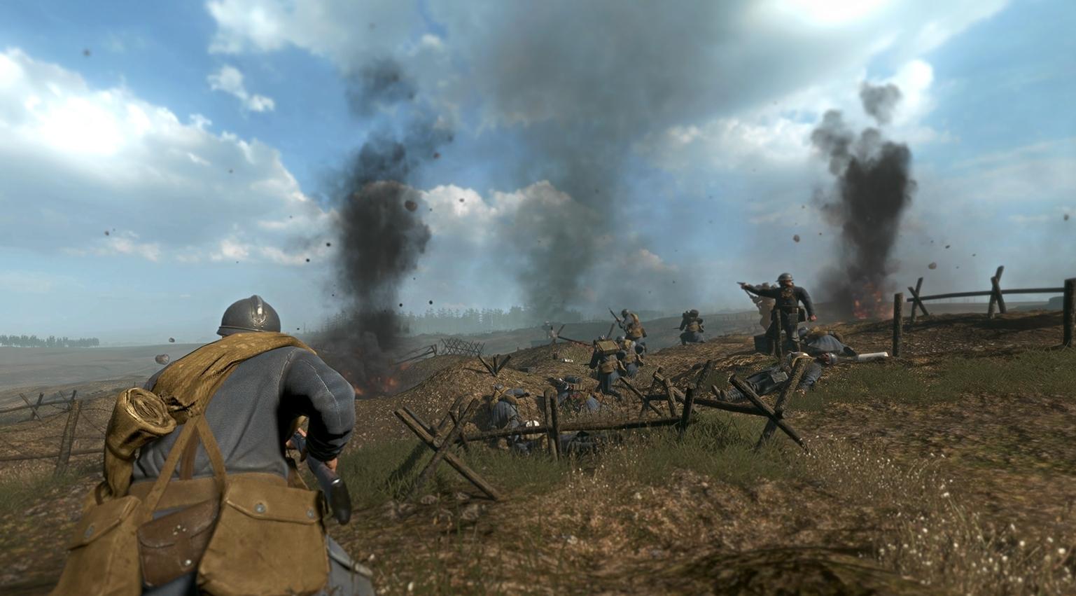 Скриншот Verdun (2015) PC