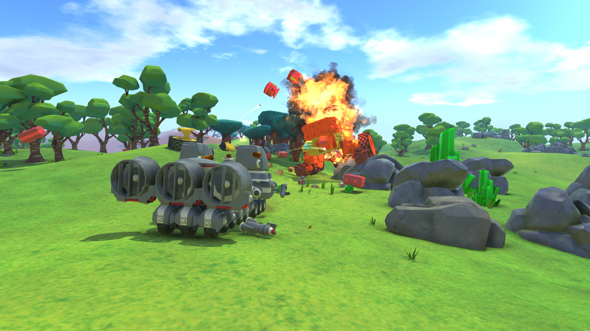 Скриншот TerraTech (2015) PC