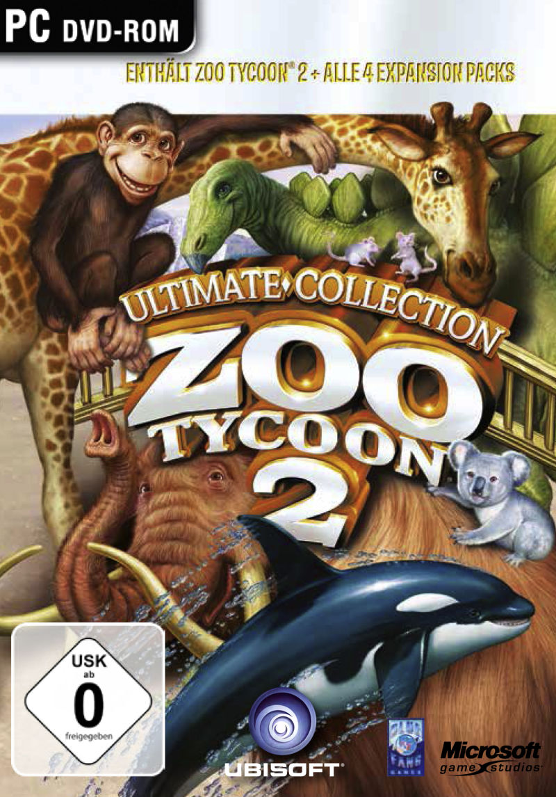 Zoo Tycoon 2: Ultimate Collection (2005-2007) PC