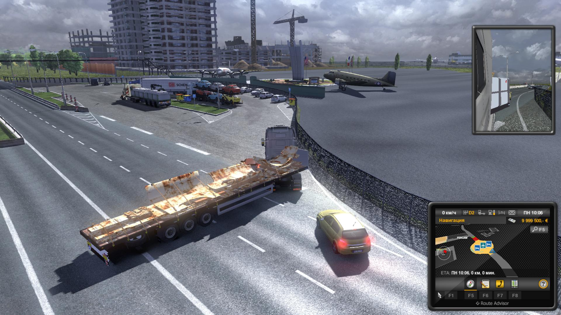 Скриншот Euro Truck Simulator 2: Gold Bundle (2012) PC