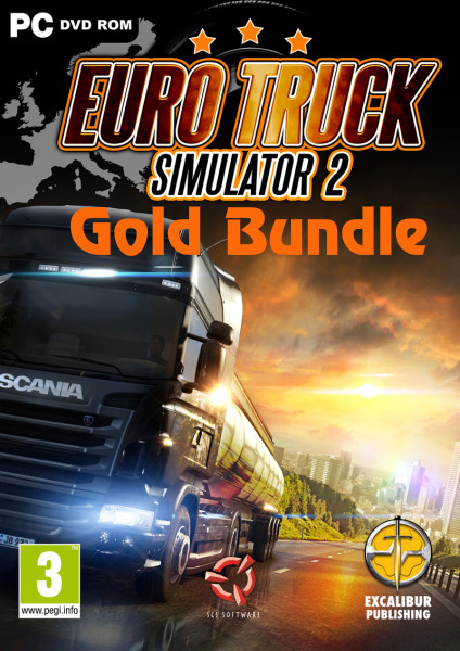 Euro Truck Simulator 2: Gold Bundle (2012) PC