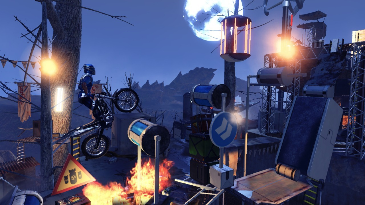Скриншот Trials Fusion: Fire in the Deep (2015) PC
