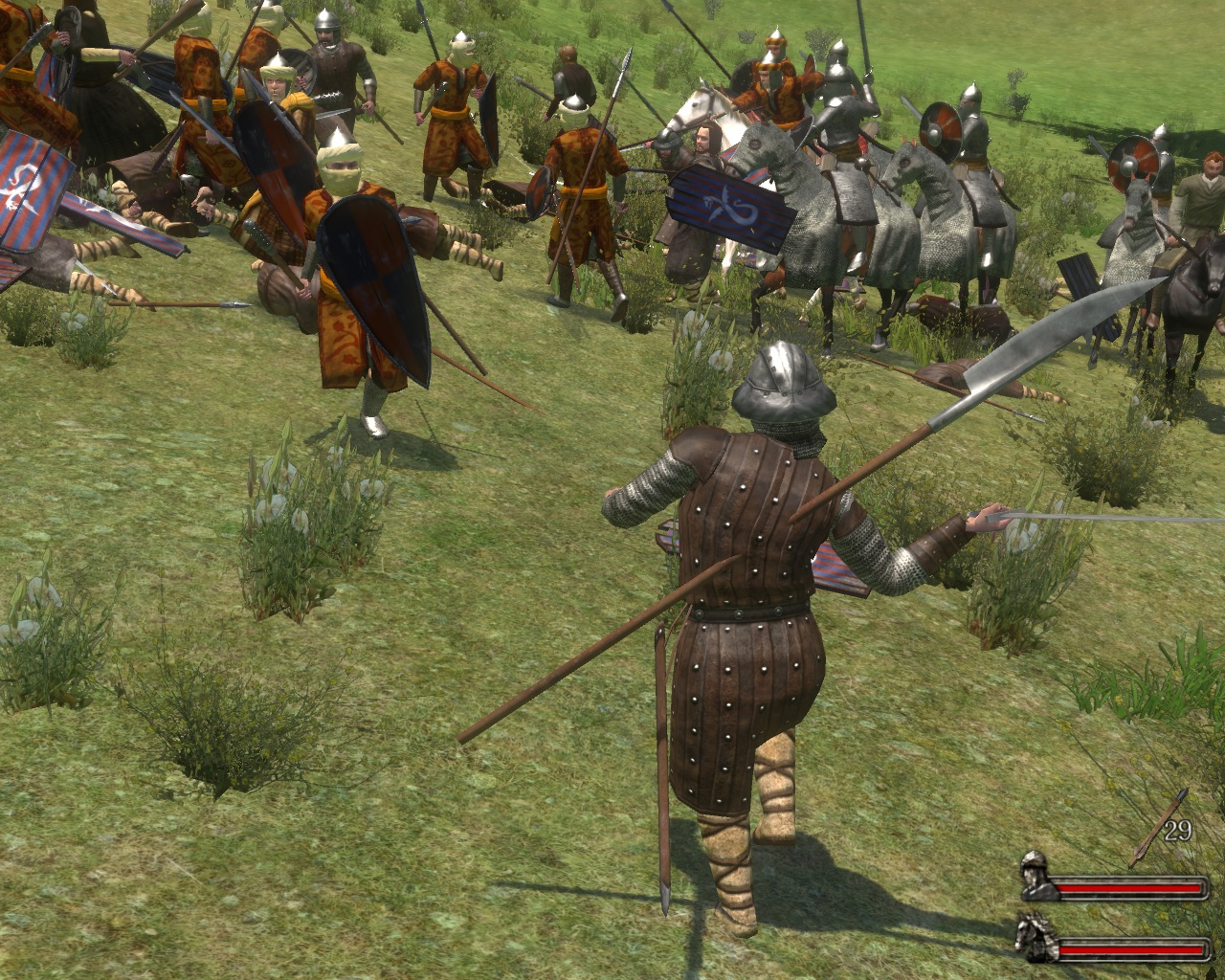 mount and blade warband автоматы