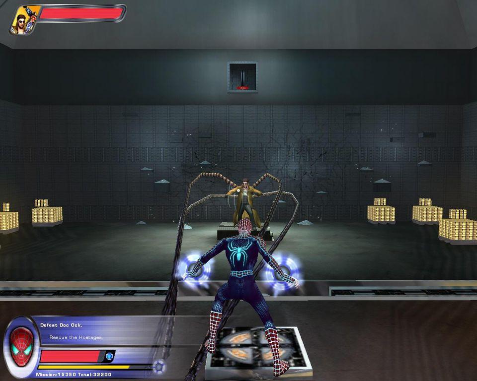 Скриншот Человек-Паук 2 / Spider-Man 2 - The Game (2004) PC