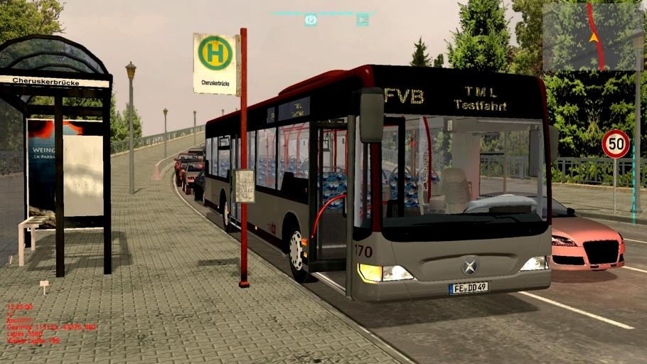 скачать игру Bus Simulator 2012 скачать торрент - фото 4