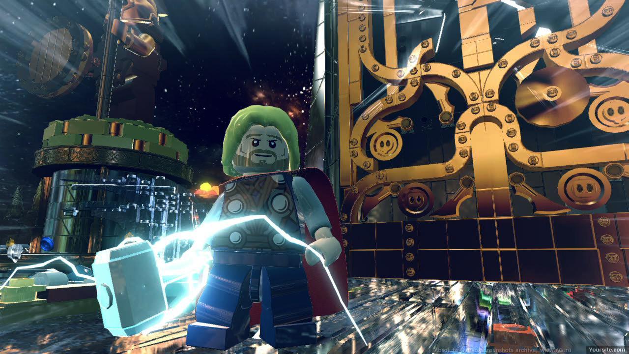 Скриншот LEGO Marvel Super Heroes [Update 1] (2013) PC
