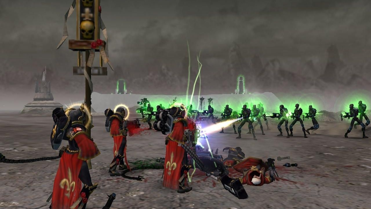 Скриншот Warhammer 40.000: Dawn of War - Soulstorm (2008) PC