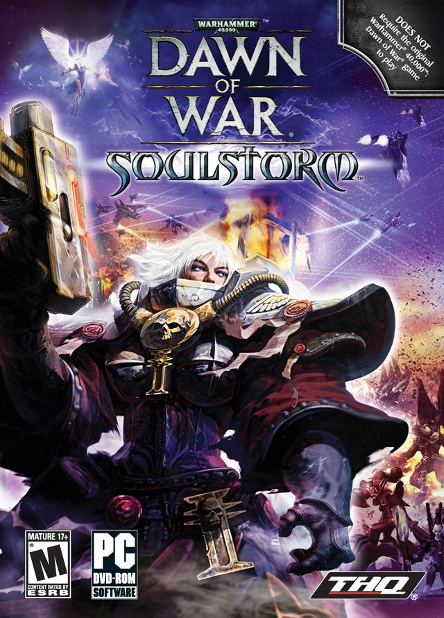 Warhammer 40.000: Dawn of War - Soulstorm (2008) PC