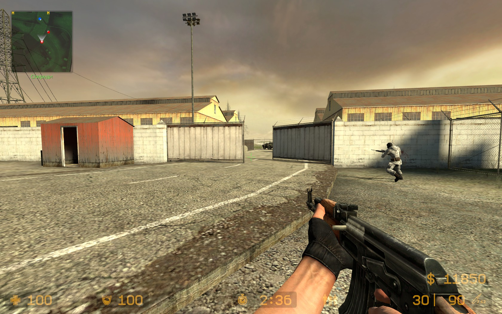 Скриншот Counter Strike Source v84 No Steam (2014) PC