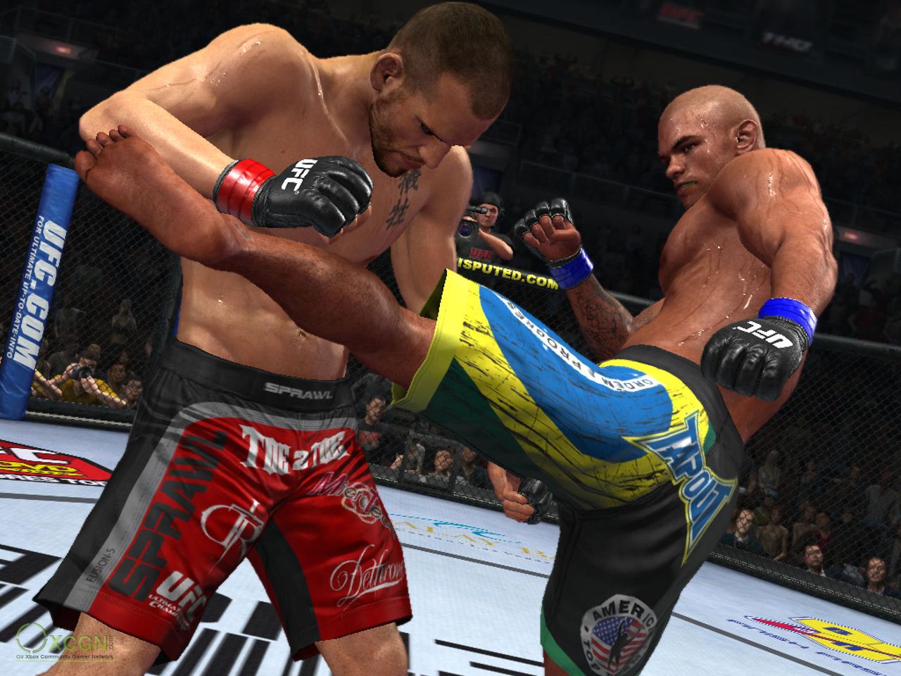 Скриншот UFC Undisputed (2010) PC
