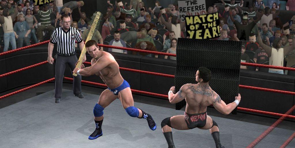 Скриншот WWE Raw Ultimate Impact (2012) PC