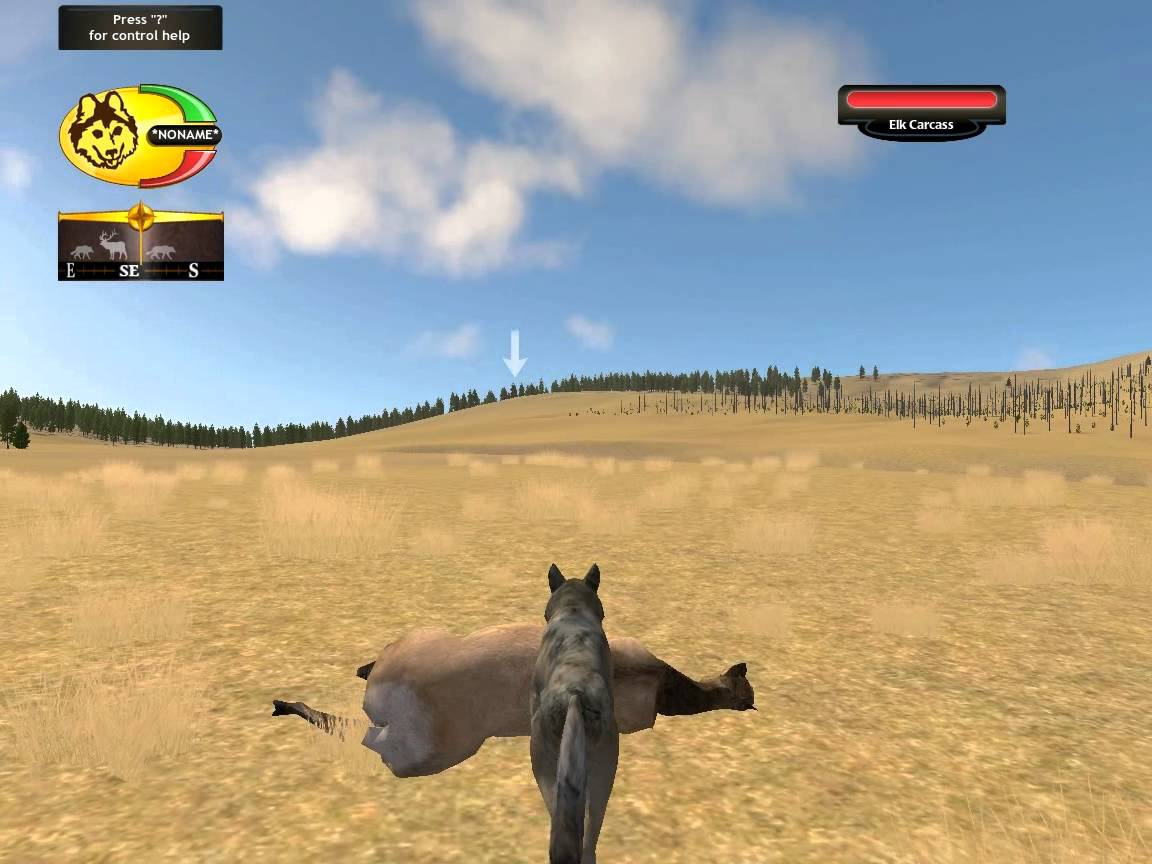 Скриншот WolfQuest: Survival of the Pack Deluxe (2011) PC